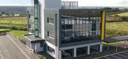 AeroHub Enterprise Park, Newquay (Brady Construction Services Limited)